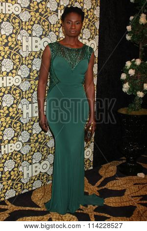 LOS ANGELES - JAN 10:  Adina Porter at the HBO Golden Globes After Party 2016 at the Beverly Hilton on January 10, 2016 in Beverly Hills, CA