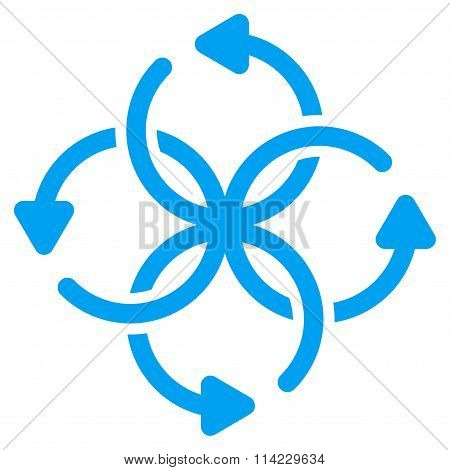 Knot Rotation Icon