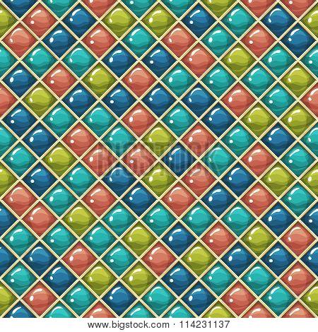 Glossy cells pattern