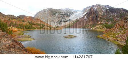 Ellery lake in Yosemite national park