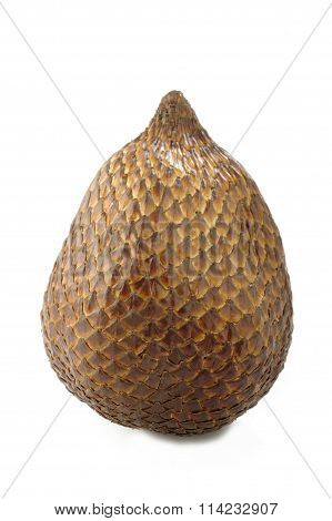 Salak Bali Fruit On White Background