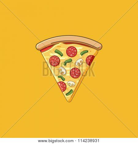 Simple Pizza slice