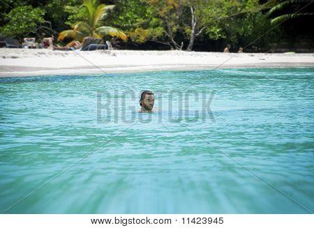 Man On Vacation