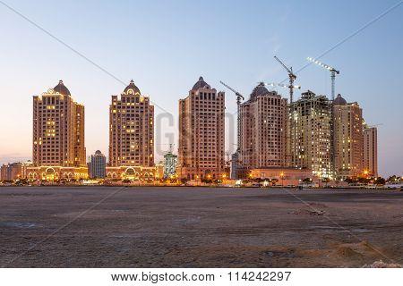 Buildings At The Pearl, Doha, Qatar