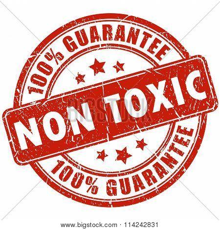 Non toxic stamp