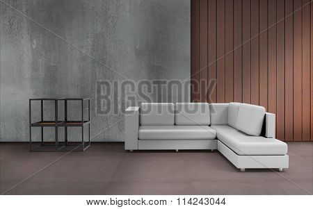 Living room Minimal Style And Wall Desing And Texture