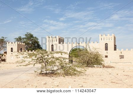Farm In The Desert Of Qatar, Middle East