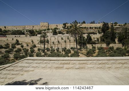 Golden Gate Of Jerusalem In Israel