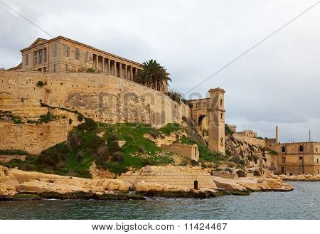 Kalkara In Winter. Malta