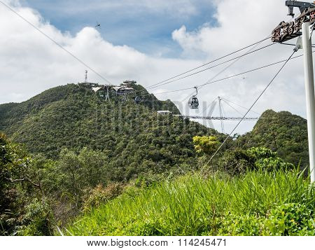 Langkawi Cable Cars at Mount Mat Cincang