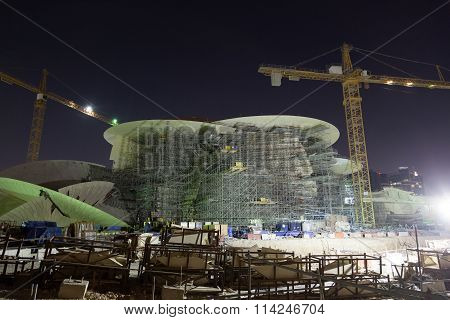 Qatar National Museum Construction Site