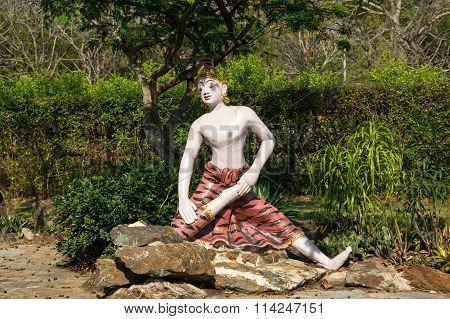 Statue Of Yogi