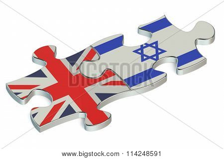 Israel And Great Britain Puzzles From Flags