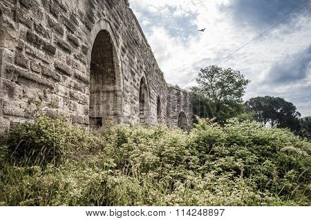 The Ancient Roman Water Aqueduct