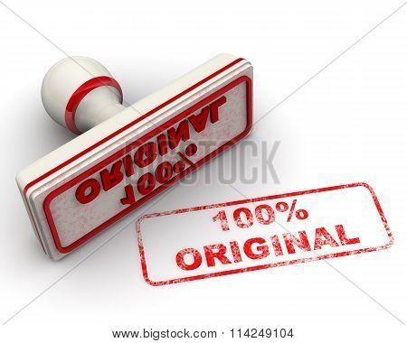 100% ORIGINAL. Seal and imprint