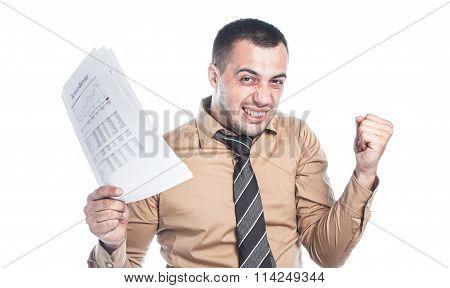 Thriving Businessman