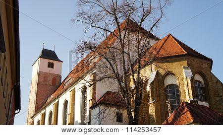 A church in Saxony