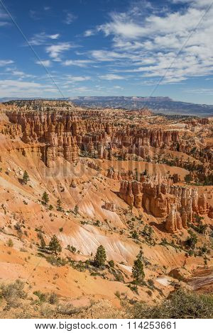 View Over The Amphitheater In Bryce Canyon