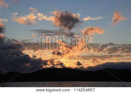 Sunset in Upper Peninsula