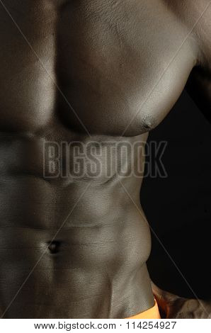 Pectoral Of African Man