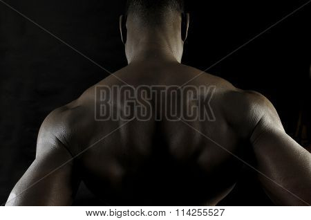 Back of a man