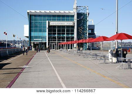Broadway Pier San Diego