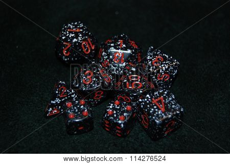 Spotted Dice Set