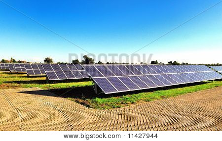Photovoltaic station
