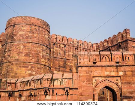 The Red Fort In Agra
