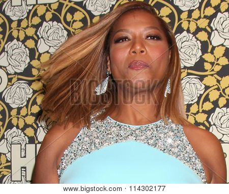 LOS ANGELES - JAN 10:  Queen Latifah, Dana Owens at the HBO Golden Globes After Party 2016 at the Beverly Hilton on January 10, 2016 in Beverly Hills, CA