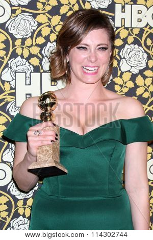LOS ANGELES - JAN 10:  Rachel Bloom at the HBO Golden Globes After Party 2016 at the Beverly Hilton on January 10, 2016 in Beverly Hills, CA