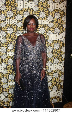LOS ANGELES - JAN 10:  Viola Davis at the HBO Golden Globes After Party 2016 at the Beverly Hilton on January 10, 2016 in Beverly Hills, CA