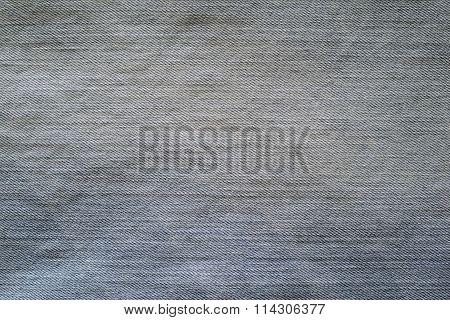Texture Old Denim Of Blue Color