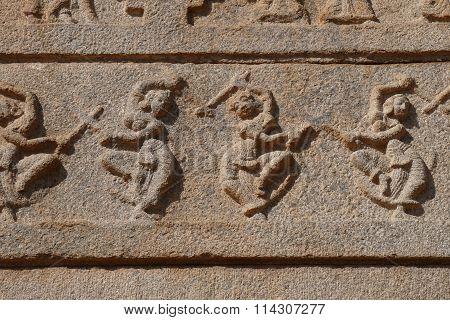 Stone bas-reliefs
