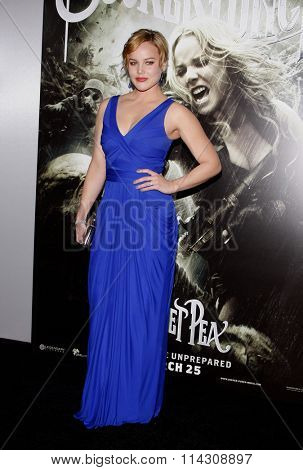 HOLLYWOOD, CALIFORNIA - March 23, 2011. Abbie Cornish at the Los Angeles premiere of