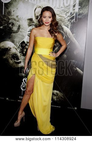 HOLLYWOOD, CALIFORNIA - March 23, 2011. Jamie Chung at the Los Angeles premiere of