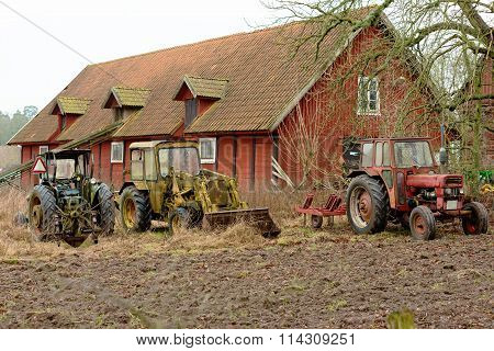 Old Vintage Tractors