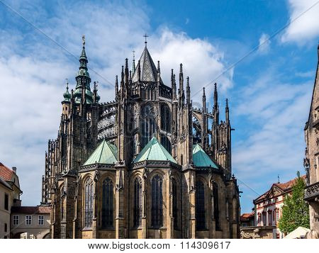 Metropolitan Cathedral of Saints Vitus, Wenceslaus and Adalbert, Prague Castle, Czech Republic