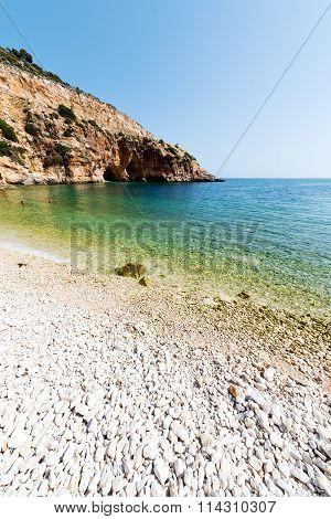 Asia In Thurkey Antalya Lycia Way Water Rocks