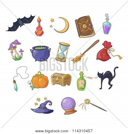 Haloween and Game Icon Vector Set