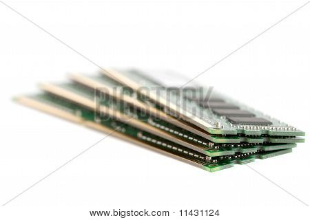 Pile Of Computer Memory