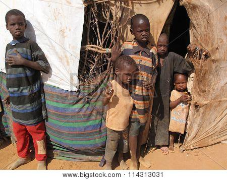 Somalia Refugee Camp