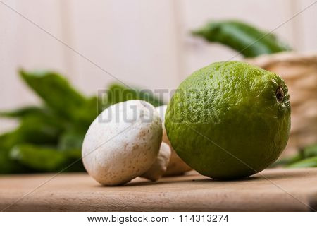 Lime With Champignons