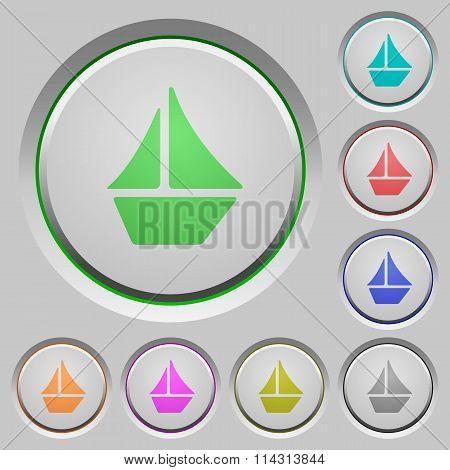 Sailboat Push Buttons