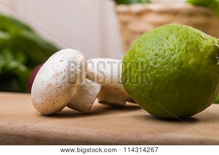 One Lime With Two Champignons