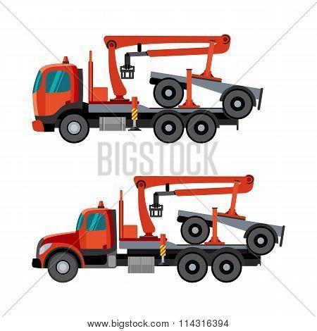 Crane Trucks For Timber