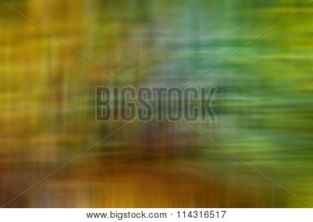 Abstract Blur Colorful Green Yellow Background Strokes