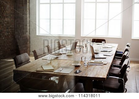 Meeting Room Conference Contemporary Stationary Concept