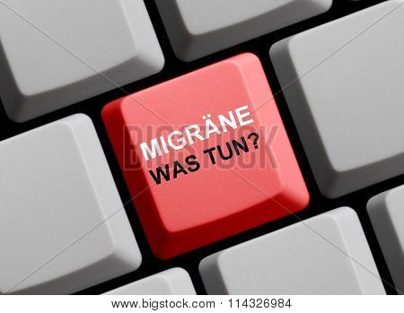 Red Keyboard Migraine What To To German