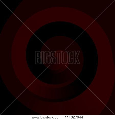 Abstract geometric fractal swirl background